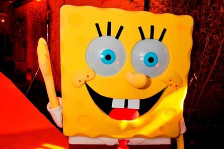 Spongebob Squarepants: at Nickelodeon kids' programming launch