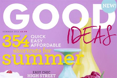 Good Ideas: quarterly from Hearst is targeted at the women's lifestyle sector