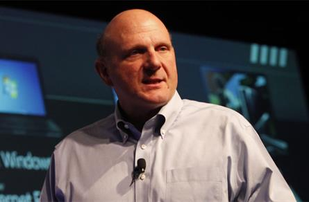 Steve Ballmer: Microsoft chief executive