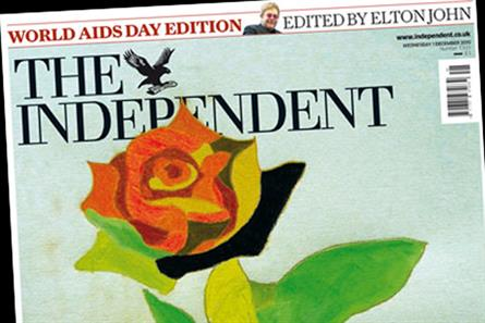 The Independent: World Aids Day issue edited by Elton John