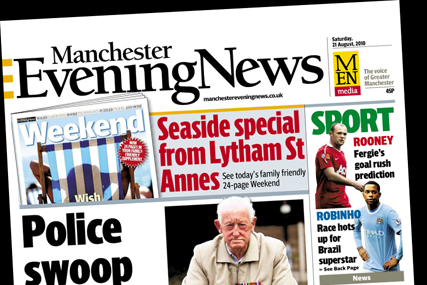 Manchester Evening News: now showing a profit