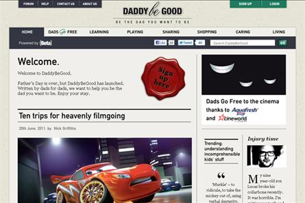 Beta's latest foray into online publishing DaddyBeGood