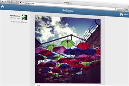 Instagram: launches web service