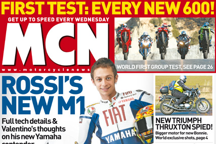 Motor Cycle News: will have a new look and content from 11 March issue