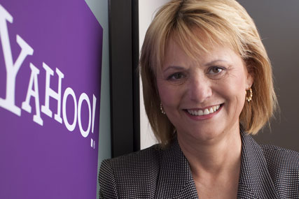 Carol Bartz: chief executive of Yahoo