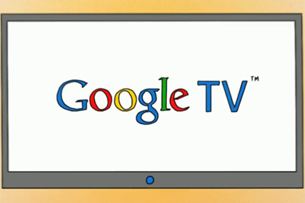 Google TV: marrying its internet services into the TV viewing experience