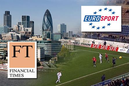 Eurosport and the Financial Times: topping the EMS Winter poll