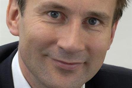 Jeremy Hunt: plans for a world-class digital infrastructure