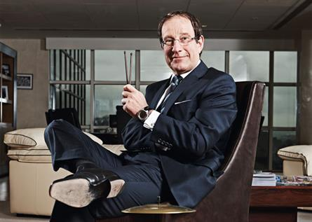 Richard Desmond: 'We will turn round Channel 5, same as we did with Express Newspapers'