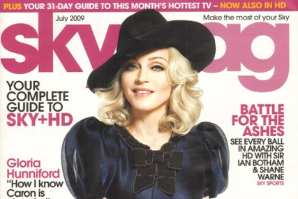 Sky: free customer magazine tops the table