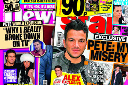 New! and Star: combined sales boost circulation