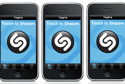 Shazam: partners with Last.fm to create bespoke playlists
