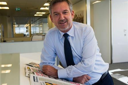 News Int's CEO Mockridge unveils 'groundbreaking' print to digital ad conversion