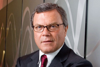 "Honoured: Sir Martin Sorrell, described as ""a great ambassador for British business across the world"""