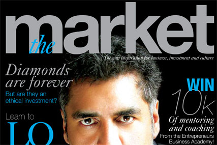 The Market: launch issue features dragon James Caan on the cover