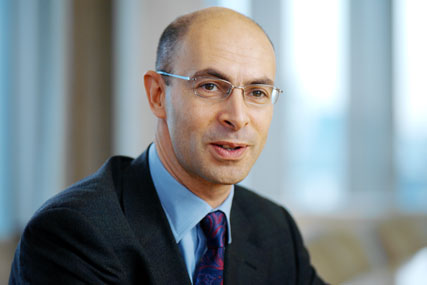 David Levin: chief executive of UBM