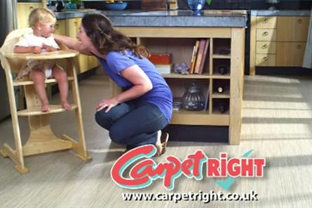 Carpetright: set to review its £8m media planning and buying business