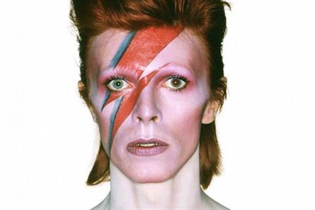 David Bowie: album cover shoot for Aladdin Sane (picture credit: Duffy Archive)