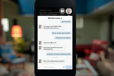 Facebook: launches Home and includes Chat Heads