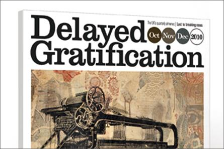 Delayed Gratification: Time Out's international editor Marcus Webb launches premium-priced quarterly magazine