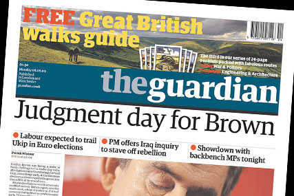 Guardian News & Media: more than 100 job cuts planned