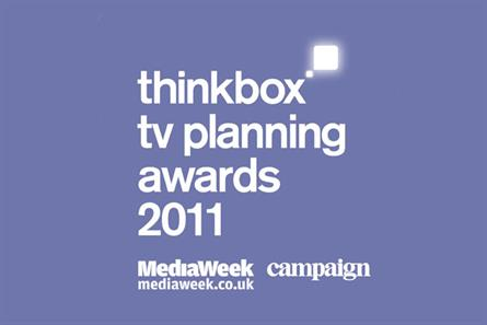 Thinkbox TV Planning Awards: 2011 shortlist is announced