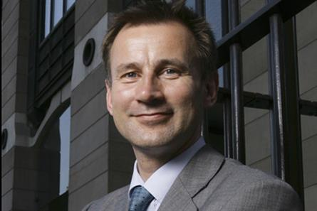 Jeremy Hunt: secretary of state for culture, media and sport