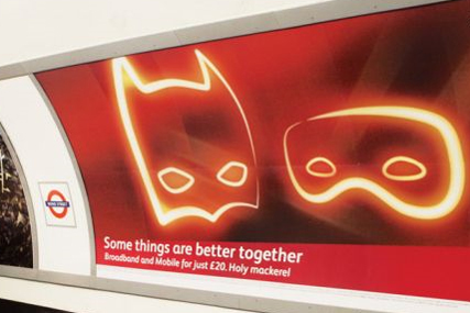 CBS Outdoor: Virgin Media London Underground campaign