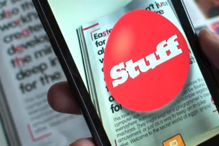 Stuff magazine: creates interactive edition with Blippar app