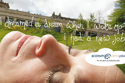 Scotsman.com: launches ad campaign by 60 Watt