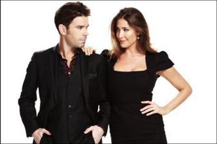 New team: 95.8 Capital FM presenters Dave Berry and Lisa Snowdon