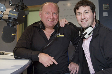 Talk Sport presenters Alan Brazil and Ronnie Irani