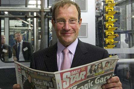 Richard Desmond: targeting the white van man?