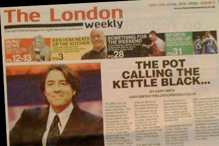 The London Weekly: questions remain over where the paper is produced and printed