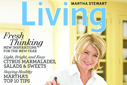 Martha Stewart: readies Living magazine UK launch