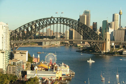 Sydney: like London, but smaller