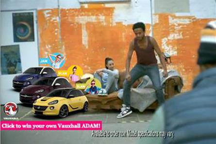 "Vauxhall: ""Adam"" ad for women"