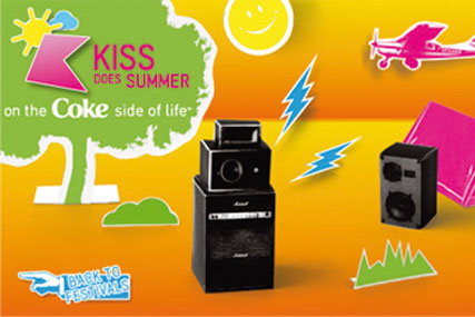 Coca-Cola: tie-up with Bauer's Kiss FM