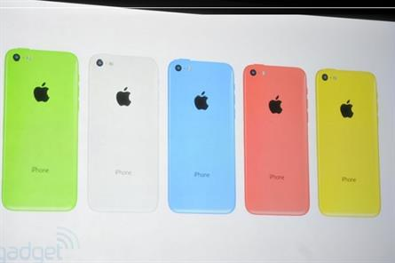 Apple's iPhone 5C and 5S presented by CEO Tim Cook