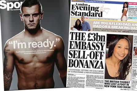 Joint effort: Sport magazine and the Evening Standard agree distribution deal