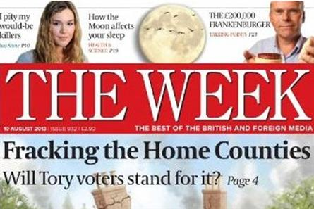 The Week: posted a 3.1 per cent year-on-year rise in circulation