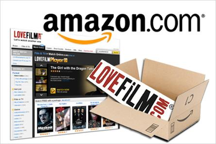 Amazon: acquires LoveFilm