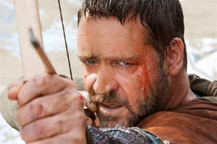 Robin Hood: film prompts swell of visitors to Nottingham
