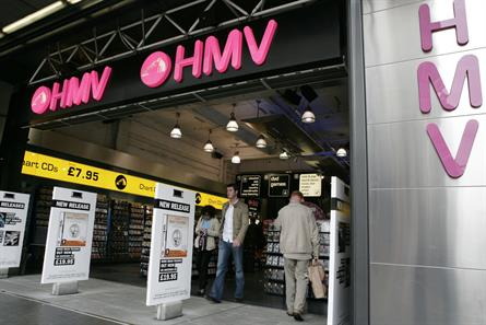 HMV: the latest high-street brand to be forced to call in the administrators