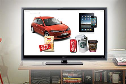 Product sponsorships: coming to UK TV