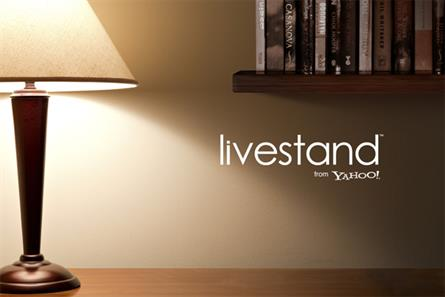 Yahoo: set to roll out Livestand service this year