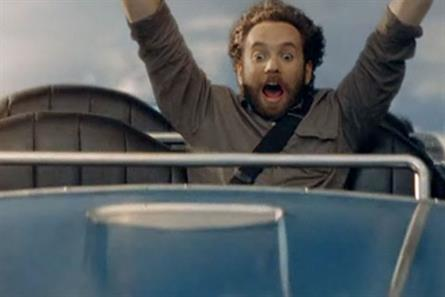 Barclaycard: rollercoaster campaign