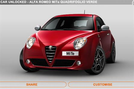 Alfa Romeo: joins the cast of I Am Playr