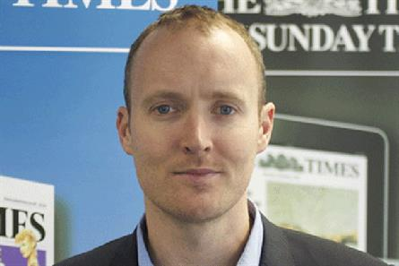 Dylan Wyn-Pugh: head of strategy at The Times and The Sunday Times