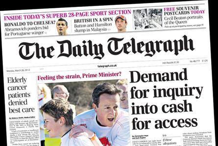 The Daily Telegraph: owner TMG predicts a tough year ahead